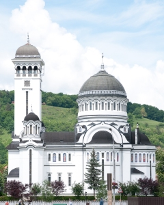 The Romanian Orthodox church in Sigishoara