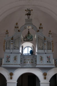The organ in the Unitarian church