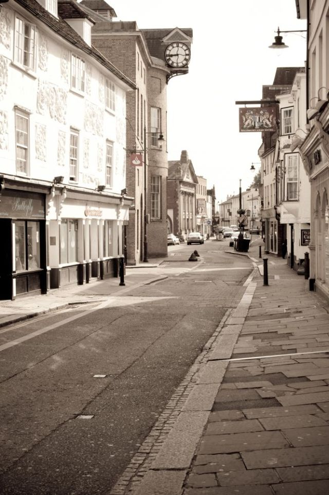 A street in Hertford