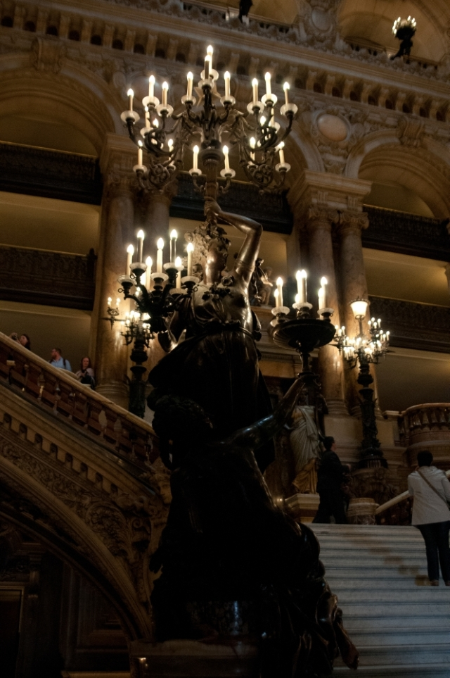 Candelabra in the Paris Opera House
