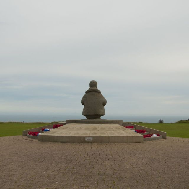 The pilot, Battle of Britain memorial