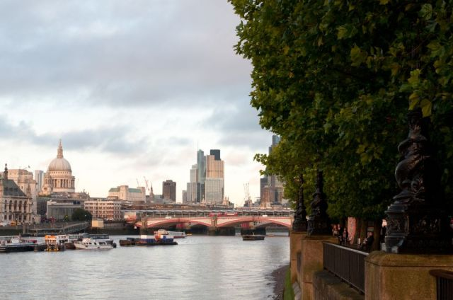 River Thames in evening light