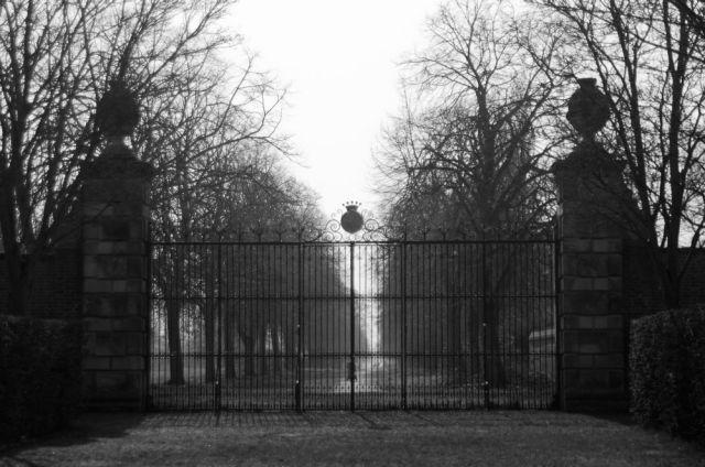 Ham House gates
