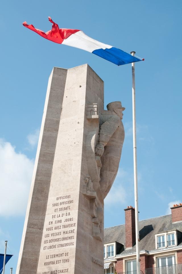 Amiens war memorial