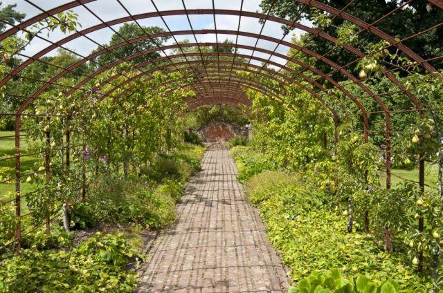 Garden walk at Batemans