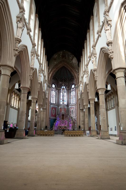 Interior of Gorton Monastery