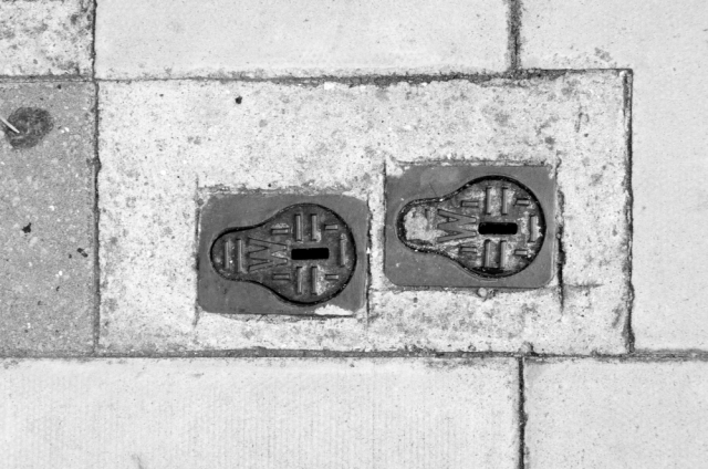 Pair of drain covers