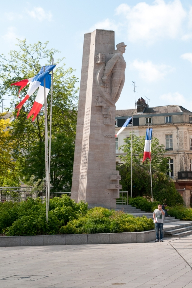 War memorial, Amiens