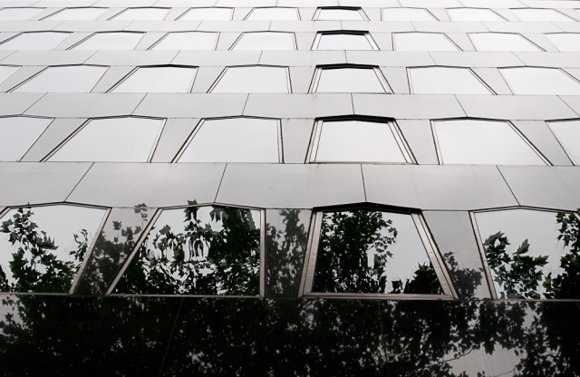 Reflecting windows