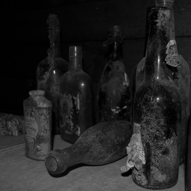Dusty bottles